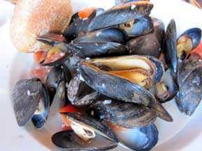 Mussels tomato